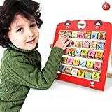 Munchkin Land Alphabet Learning Educational Toy For Kids With 360 Rotating Letters & Pictures