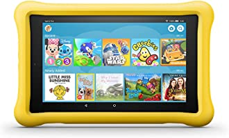 "Fire HD 8 Kids Edition Tablet, 8"" HD Display, 32 GB, Yellow Kid-Proof Case"