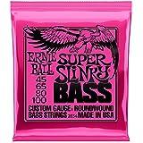 Ernie Ball 2834 Super Slinky Bass Nickel Wound Bass Guitar Strings