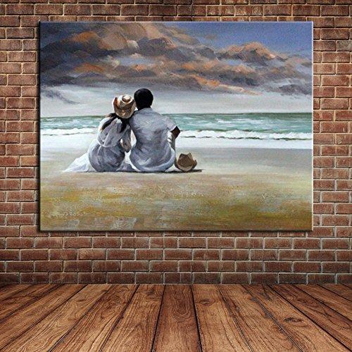 IPLST@ Estratto arte moderna della parete amanti
