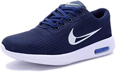 MB Men's Blue Canvas Running Stylish Sports Outdoor Party Wear Shoes
