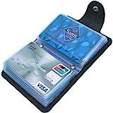 Mocasor Credit Card Holders for Men & Women Soft Leather Bank Card Case Slim Pocket Wallet ID Card Organiser Business Card Ca