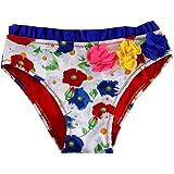 SOL Y PLAYA-Bañador niña para Slips de natación Traje de Baño para Bebés Bañador Braguita niña Bikini niñas Ropa de baño Flor