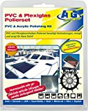 Lucidanti per pulizia finestrini lucidatura vetro plexiglas ® PVC e acrilico barca yacht