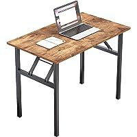 sogesfurniture Schreibtisch Klapptisch 100x60cm Computertisch Büromöbel PC Tisch, Stabil Bürotisch Konferenztisch…