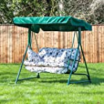 Swing Seat for 2 with Classic Oxford...