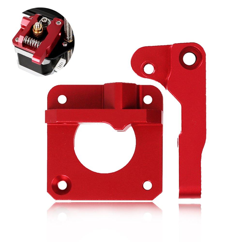 MK8 Bowden, Doris Direct 1,75mm Filament MK8 Extruder pour Reprap 3D Imprimante Kossel Mendel Prusa (Version droite)