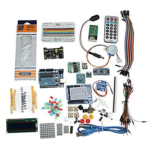 BliliDIY Starter Project Kit Con Componenti Uno R3 Mega 2560 Nano Breadboard Per Arduino