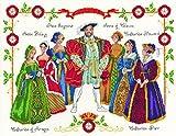 DMC Henry VIII Cross Stitch Kit, Cotton, Multi-Colour