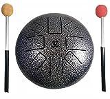 #1: Aum (ॐ) Happy Drum Pan Drum, Steel Tongue Drum, Hang Drum Tank Drum 9