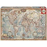 Educa  14827 4000 Storico Mappa Mondiale