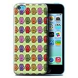 Stuff4 Coque Coque pour Apple iPhone 5C/Tricératops Bébé Coloré Design/Dinosaures Dessin Animé Collection