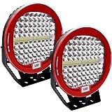 SXMA 7 pulgadas 51W Luz de trabajo LED redonda Faros ...