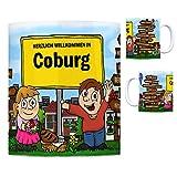 trendaffe - Herzlich Willkommen in Coburg Kaffeebecher