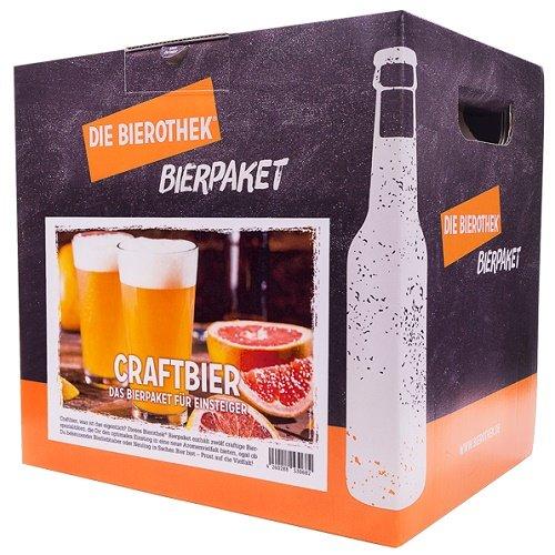Bierothek® Bierpaket Craftbier (12 Flaschen Craft Bier | außergewöhnliches Geschenk) (Bier Rund Um Die Welt)