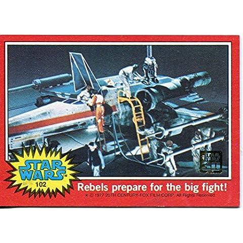 30° anniversario Star Wars Vintage Gold Foil stampati Buyback-Carta#102