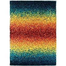 Teppich bunt hochflor  Suchergebnis auf Amazon.de für: Teppich Rot Orange