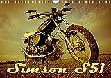 Simson S51 (Wandkalender 2018 DIN A4 quer): Simson S51 Wandkalender, 13 Seiten (Geburtstagskalender, 14 Seiten ) (CALVENDO Spass) [Kalender] [Apr 01, 2017] Sängerlaub, Maxi