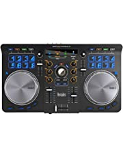 Hercules Universal DJ| 2-Deck DJ Controller, Bluetooth, 16 Performance-Pads, Audio In/Out, full DJ Software DJUCED included, PC/Mac/iOS/Android