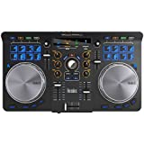 Hercules Universal DJ | Contrôleur DJ à 2 platines, Bluetooth, 16 pads, entrée / sortie audio, logiciel DJ complet DJUCED inc