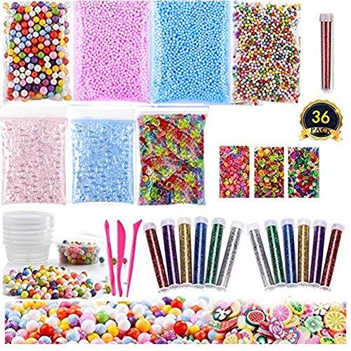 Novata Slime 36 Pack de Suministros para Bricolaje...