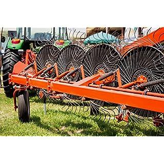 BEKATEQ LS-495 1K Maschinenlack glänzend innen und aussen, 2,5l IHC rot: RAL 3003, Lack für Land- und Industriemaschinen, Traktor lackieren, Industrielack