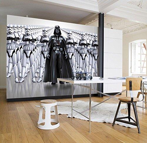 Komar Star Wars Imperial Force Dark Vador Stormtrooper papier peint, vinyle, Noir/blanc, 8pièces