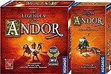 """KOSMOS 691745 - Die Legenden von Andor, Kennerspiel des Jahres 2013 Grundspiel + Erweiterung """"der Sternenschild"""""""
