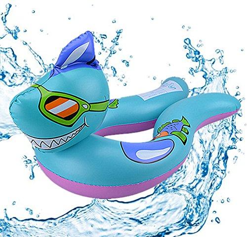 Cartoon-Tiere schwimmen Ring , Chickwin Baby Aufblasbare Schwimmbad Float Swim Ring Schwimmen Ring Achselhöhle Baby Aufgeblasen Schwimmen Ring (Shark) (Shark Anzug Für Hunde)