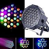 JUDYelc 18 LED Parabolischer Aluminium Reflektor 7 Farben Lichter für