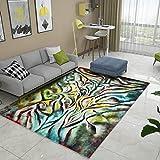 GRENSS Die Nordischen Abstrakte Kunst Teppich Wohnzimmer Sofa Tisch Matte Minimalistischen Modernen Home Schlafzimmer mit Etagenbetten und Decken, 120 cm * 160 cm, BO-42