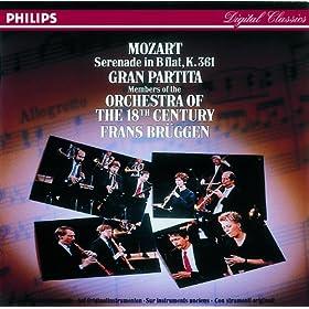 "Mozart: Serenade, K. 361 ""Gran partita"""