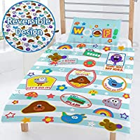 Hey Duggee 'WOOF' Junior Duvet, Polyester-Cotton, Multi-Colour, Full