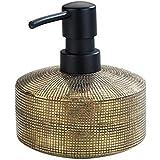 Wenko Zeepdispenser Rivara keramiek - vloeibare zeepdispenser, afwasmiddeldispenser, handbeschilderd inhoud: 0,4 l, keramiek,