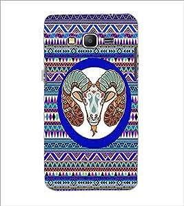 PrintDhaba Zodiac Aries D-3498 Back Case Cover for SAMSUNG GALAXY GRAND PRIME (Multi-Coloured)