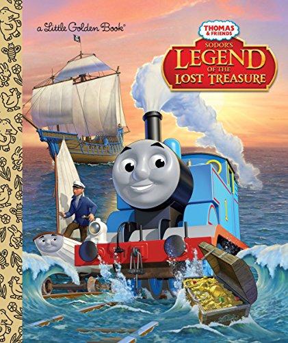 Sodor's Legend of the Lost Treasure (Thomas & Friends) (Little Golden Books: Thomas & Friends) por W. Awdry
