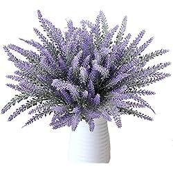 Flores artificiales ramo de lavandas 8 pcs