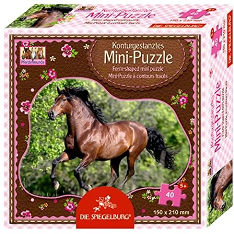 Minipuzzle Andalusier Pferdefreunde (40 Teile)
