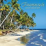 Trauminseln - Broschur Kalender 2017 - Korsch-Verlag - offen 30 cm x 60 cm