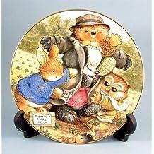 c1997 Country Companions collector PLATTE-Verband der Vogelscheuche