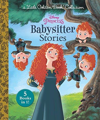 Disney Princess Babysitter Stories (Disney Princess) (Little Golden Book)