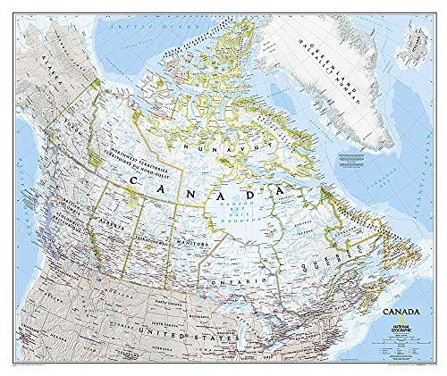 Kanada Classic: NATIONAL GEOGRAPHIC Länder & Regionen (National Geographic Reference Map)