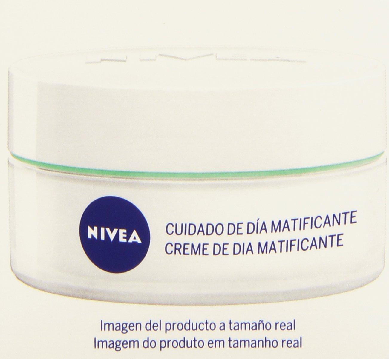 NIVEA Cuidado de Día Hidratante (1 x 50 ml), crema refrescante para el cuidado de día, crema hidratante con protector solar 15, cuidado facial para piel normal a mixta