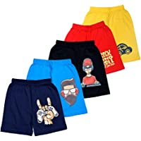 T2F Boy's Regular fit Cotton Shorts