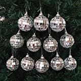 Best Disco Balls - Silver Mirrored Glass Disco Ball Christmas Ornaments Pack Review
