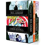 Neil Gaiman & Chris Riddell Box Set: The Graveyard Book / Coraline / Fortunately, the Milk
