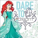 Disney Princess Arielle Servietten , 16 Stück, 32x32 cm