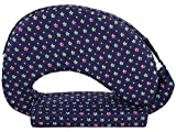#6: MomToBe Green Star Feeding Pillow - HD Foam 100% Cotton Fabric