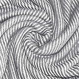Lorenzo Cana Kaschmirdecke Wohndecke Decke 100% Kaschmir handgewebt Sofadecke Kaschmirdecke Wolldecke Grau Weiss 96275