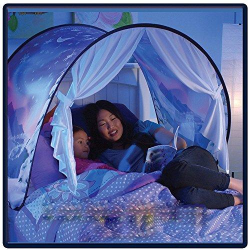 872f705d3f2403 Tente Enfant IntéRieur,Moustiquaire Bebe Princesse Ciel De Lit,Hiver  Merveilles Confort Outils De Couchage